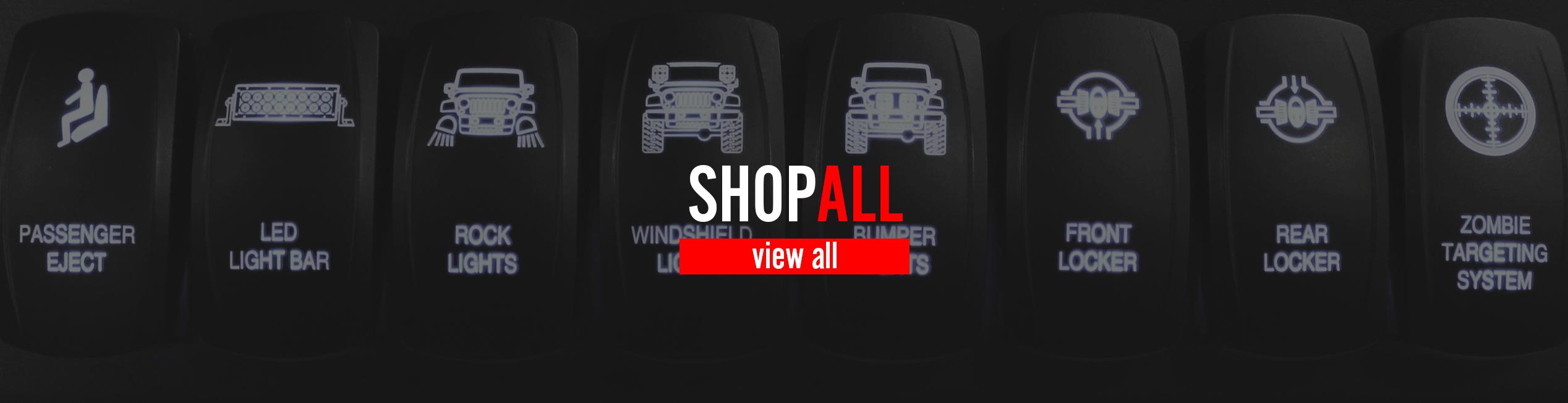 4x4 Spod Wiring Led Light Bar Jeep Jk Shopjeep